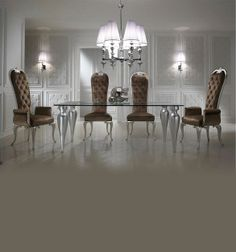 Diva collection high back chair dining chair