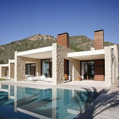 Home Design, Modern Architecture Popular In Spanish: Modern Popular Home Style With  Modern Spanish Architectures