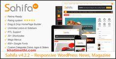 Sahifa Responsive Theme For Wordpress Themes Free, Wordpress Template, Wordpress Free, News Magazines, Blogger Tips, Premium Wordpress Themes, The Help, Film, Colors