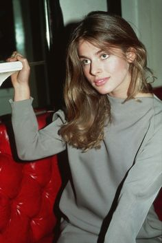 Nastassja kinski in grays, I love this color on her.