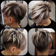 Today we have the most stylish 86 Cute Short Pixie Haircuts. We claim that you have never seen such elegant and eye-catching short hairstyles before. Pixie haircut, of course, offers a lot of options for the hair of the ladies'… Continue Reading → Pixie Bob Haircut, Short Pixie Haircuts, Short Hair Cuts, Short Hair Styles, Undercut Pixie Cut, Pixie Hairstyles For Thick Hair Undercut, Edgy Short Hair, Short Hair Undercut, Undercut Women
