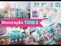 DIY ♥ Party Time! ♥ Prepare a festa mais linda! Súper Fácil! - YouTube