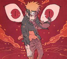 kurama an Naruto Naruto Uzumaki, Anime Naruto, Fan Art Naruto, Anime Manga, Manga Art, Anime Shop, Naruto Wallpaper Iphone, Naruto Drawings, Wallpaper Naruto Shippuden