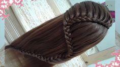 peinados recogidos faciles para cabello largo bonitos y rapidos con tren...