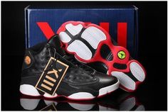 bb6acb7f944b Authentic Cheap Air Jordan 13 New Authentic Cheap Air Jordan 13 Summer Shoes  White Black Red 2016 Sale