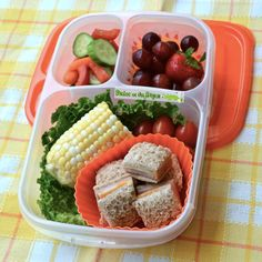 Quick and easy lunch box ideas | packed in @EasyLunchboxes containers