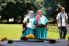 Las abuelas Xochicuamantmatzin con el fuego y abuela Huehuetel cantando <3