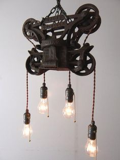 Hay Trolley Carrier Lamp (A0615)
