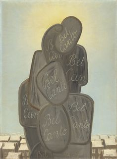 René Magritte : Bel canto