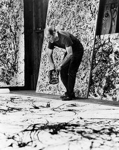 Jackson Pollock, by Hans Namuth