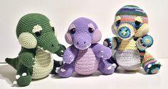 Huggy Gator *Pattern*   Alligator Creator, #crochet, free pattern, amigurumi, stuffed toy, #haken, gratis patroon (Engels), krokodil, aligator, pop, speelgoed, #haakpatroon