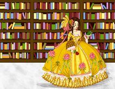 Contemporary Disney by labrattish on DeviantArt Disney Fan Art, Disney Style, Disney Love, Disney Magic, Alternative Disney Princesses, Disney Princess Belle, Belle Beauty And The Beast, Twisted Disney, Cinderella Wedding