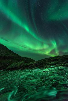 Norway - Mountain Lightshow by Arild Heitmann Photography on Flickr.