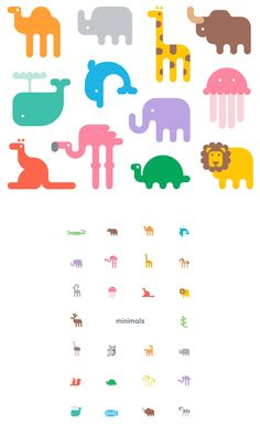 Minanimals: Alliteration Inspiration: Zoos & Zzzs / on Design Work Life
