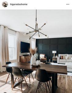 Scandi Living Room, Open Kitchen And Living Room, Living Spaces, Open Concept Floor Plans, Extension Ideas, Dining Nook, Modern Boho, West Elm, Living Room Designs