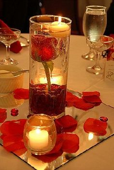 ideas for wedding reception centerpieces