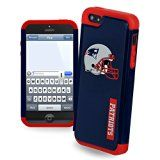 Forever Collectibles New England Patriots Rugged Dual Hybrid Helmet Logo Apple iPhone 5 & 5S Case