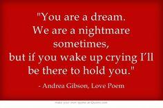 Andrea Gibson, Love Poem