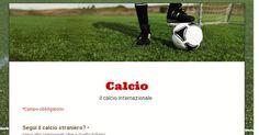 il calcio internazionale  Sondaggio personale verso il calcio