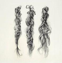 hair/braids illustration