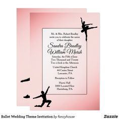 Ballet Wedding Theme