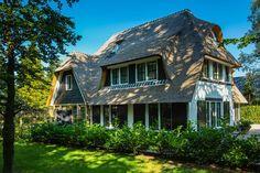Villa te Bikbergen zijgevel met dakkapel