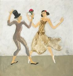 Constantin Piliuţă Pierrot and Colombina, 1982 oil on canvas 61 x 61 cm Pierrot, Shall We Dance, Post Impressionism, Art Database, Cool Art, Awesome Art, Oil On Canvas, Disney Characters, Artwork