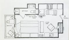 A few lessons from real-life studio apartment layouts, created by real-life studio apartment dwellers like yourself.