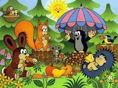 krtek a miminko - Google Search Cartoon Characters, Fictional Characters, Mole, Illustration Art, Art Illustrations, Yoshi, Childhood, Anime, Painting