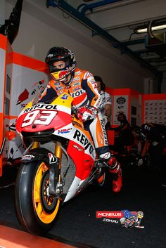 MotoGP 2013 Round Five Mugello - http://www.mcnews.com.au/MotorcycleRacing2013/MotoGP/Rnd5/Day_3.htm - Marc Marquez at Mugello