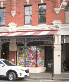 The Lark Store in Melbourne balloon filled window // design by Laura Blythman // www.larkstore.com.au #larkstore #larkstorefitzroy