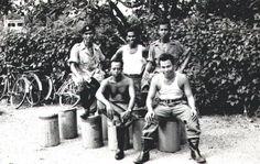 Malay Firemen at Changi, circa 1957-58.