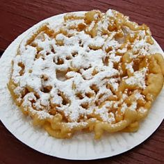 Worlds Best Recipes: Homemade Delicious Funnel Cake
