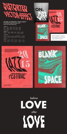 Adobe Illustrator Photocopy Distortion Effect