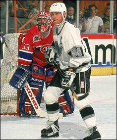Wayne Gretzky et Patrick Roy