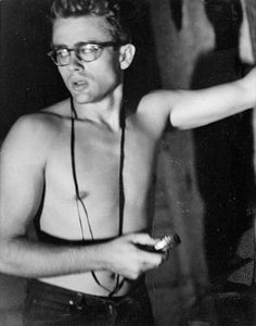 James Dean shirtless