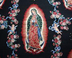 Virgin of Guadalupe von Alexander Henry  100% Baumwolle  waschbar bei 30°