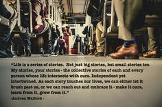 Embracing Our Everyday Stories - Andrea Walford