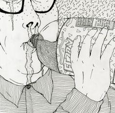 http://ohaymrdth.tumblr.com/post/77860484286/gross-eating-part-1