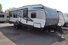 HIGH THRILLS TOY HAULER!  2016 Jayco Octane ZX Super Lite 272 You'll be fueled up for action with a handy 24 gallon fuel station! The quick-recover water heater will ensure everyone gets a hot shower after a fun day! Bring the whole crew for thrilling adventures, this awesome rig sleeps 9 people! The 272 model is 33' long and has a shipping weight of 6765lbs. Give our Octane ZX Super Lite expert Jacob Goodyear a call 989-860-2620 for pricing and more information.