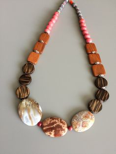 Get your hands on this unique one of a kind bohemian inspired festival necklace. Once it is sold it