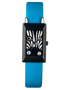 I don't like to wear a watch but this one is just. Marc By Marc Jacobs Critters Zebra Watch Watches, Colorful Fashion, Girls Best Friend, Statement Jewelry, Color Pop, Marc Jacobs, Asos, Jewels, Cool Stuff