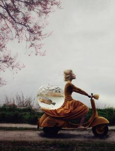 Kylli Sparre is a dancer and photographer who marries her two passions to make surreal, expressive images.