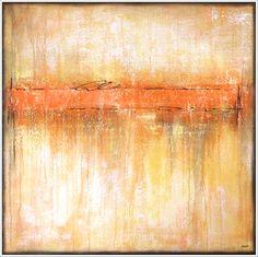 """sundowner"", acrylic on canvas - by Stella Hettner"