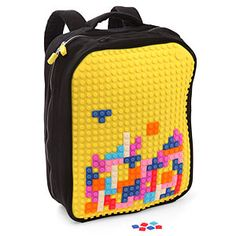 Uanyi Pixel Art Backpack - #6 in the Top 7 Ridiculously Cool Geeky & Nerdy Backpacks