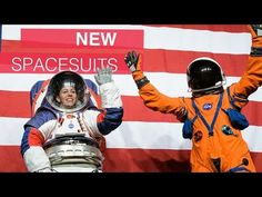 At NASA Headquarters on Oct. Administrator Jim Bridenstine introduced the Exploration Extravehicular Mobility Unit (xEMU) and Orion Crew Survival S. Spacex Launch, Nasa Images, Rocket Launch, Mission To Mars, Planetary Science, Video Library, Funny Vid, Astrophysics, Space Exploration