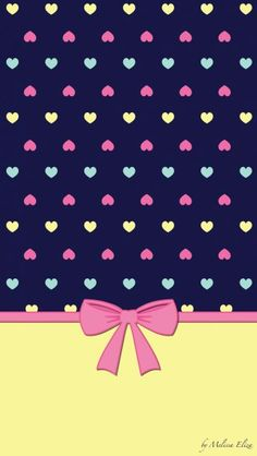 Girly wallpapers Cocoppa Wallpaper, Bow Wallpaper, Wallpaper For Your Phone, Cellphone Wallpaper, Screen Wallpaper, Mobile Wallpaper, Pattern Wallpaper, Wallpaper Backgrounds, Decoupage Paper