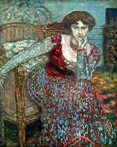 Pierre Bonnard,  Portrait of a Woman Fine Art Reproduction Oil Painting