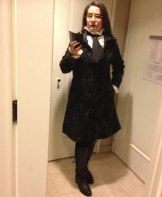 What I wore to the Sins & Virtues Ball. Many people asked what my costume was. Best guesses were Louis from Interview with a Vampire and Edgar Allen Poe. (My Tumblr following decided I was Female Severus Snape.) I was actually just... myself.