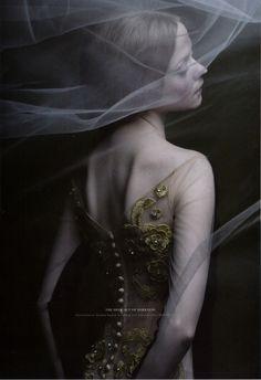 Katya Talanova by Vicky Tanzil for the Art Issue of Clara magazine    Love this